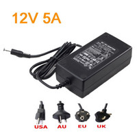 Wholesale V A switching mode power supply Power adapter with Cable AC V input for LED light strip