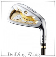 Wholesale Golf Stars Forged Beres IS Irons With ARMRQ6 Graphite R Flex Shaft Aw Sw Golf Clubs