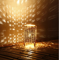 Wholesale Christmas gift bamboo light creative gift Home Furniture Living Room Furniture