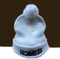 Fleece Hats Unisex Embroidered Homies Beanies Hot Sale Snapback Hats Outdoor Knitted Warm Beanies Snapbacks Hats Sport team Caps Wholesale Cheap Snapback Free Shipping