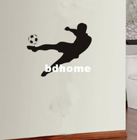 other art player - Wall Decal Wall Stickers Vinyl Removable wall Art Mural Sports Player Football R