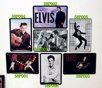 Wholesale ELVIS ARON PRESLEY Vintage Tin Sign Antique Metal Painting Decor Home Bar Pub cafe set x20CM P