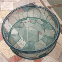 Wholesale 2013 Free shpping Nets fishing nets fishing nets six holes when used cage diameter cm away