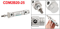 Wholesale 20mm Bore mm Stroke Double Acting Stainless Steel Pneumatic Mini Air Cylinder