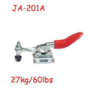 stainless steel flange - Stainless Steel Hand Tool Fixed Bar Flange Base Horizontal Toggle Clamp A Kg Lbs