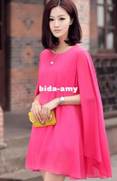 Wholesale Korean New Women s chiffon dress summer charming apparel maternity clothing colors Fast D922 for pregnant dress
