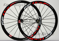 Wholesale FFWD F4R paint mm tubular clincher C road bike full carbon wheelset bicycle carbon wheels
