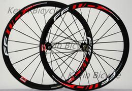 Wholesale FFWD F4R paint mm tubular clincher C road bike full carbon wheelset bicycle carbon wheels