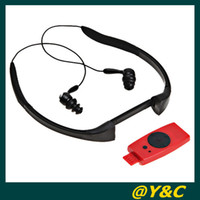 Wholesale 4GB Swimming Diving Water Waterproof MP3 Player sport mp3 with FM Radio headset