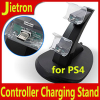 PS4 for PS4 Controller  Controller Charging Stand for Sony Playstation PS4 Dual Charger Dock for PS 4 Controllers Fedex DHL Free !!! MOQ:100PCS