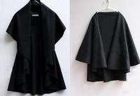 Wholesale Hot Selling Girls Fashion Ponchos European Style noble Elegant Autumn WInter Wool Coats For Women