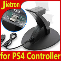PS4 for PS4 Controller  New!!! Controller Charging Stand Gamepad Holder for Sony Playstation PS4 Dual Charger Dock for PS 4 Controllers Fedex DHL Free !!!