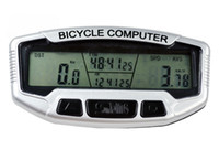 Wholesale 2013 New Digital LCD Backlight Bike computer Bicycle Computer Odometer Speedometer Clock Stopwatch