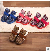 Winter Snow Boots Ankle ZS13307 Children's shoes Children's Boot Children ugg boots Leopard ugg boots Children's cotton shoes