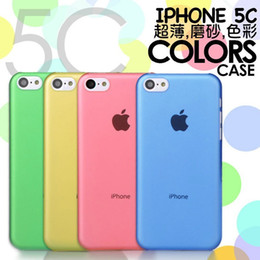 Wholesale For iPhone mm Ultrathin PC matte Candy Color Frosted case cover for iphone s plus C S S