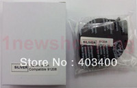 Wholesale 2PK compatible Dymo Letra Tag LT PLASTIC SILVER LABELS Tapes MM x M