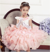 TuTu Summer Ball Gown wholesale high-grade girl party dress,girl princess clothing PRE-order 5pcs lot 9797
