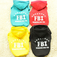 Wholesale 2013 New Arrival Thicken Pet Clothes Four Colors Dog Sweater with Hat F114