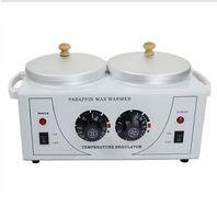 Wholesale DOUBLE Wax Warmer Electric Heater Dual Parrafin Hot Facial Skin Equipment SPA