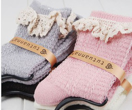 Wholesale Cotton Knitted Women s Fashion Lace Patched Multicolor Socks Autumn Soft Anti odor Hosiery pair B2095