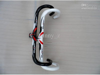 Wholesale Pro team bike handlebar cycling handlebar Pinarello most Road Bar Handlebar carbon fibre handlebar bike bicycle parts with two color