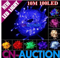 Wholesale FS M LED Light String Decoration Lamp Fairy lights for holiday Christmas Party colors option CN LSL30