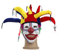 Wholesale 20set Cosplay Accessories Clown hat mask party Props christmas Halloween supplies