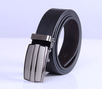 1pcs Mens Genuine Leather Automatic Buckle Belt Classic Wais...