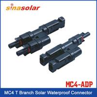 Wholesale TUV MC4 T Branch PV Connector Solar Waterproof Connector