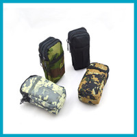 Wholesale 10pcs Multifunctional Mini Outdoor Hiking Digital Army Waist Utility Tool Pouch Bag With Belt Clip