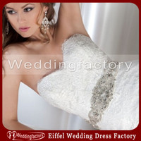 Wholesale 2014 Elegant Rhinestones Crystals Beading Bridal Sash Wedding Belt