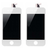 Wholesale Front Assembly LCD Display Touch Screen Digitizer Replacement Part for iphone G S Black White DHL