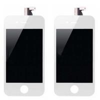 Передняя Ассамблея ЖК-дисплей с сенсорным экраном Замена планшета Часть для Iphone 4 4G 4S Черный Белый 20шт DHL