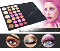 Wholesale 26 Color Eyeshadow Palettes sets Eye Shadow Makeup Box Cosmetics