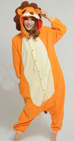 TV & Movie Costumes Unisex Animal Adults Lion onesie pajama for man and woman