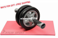 Wholesale Mute Double AB Wheel Exercise Wheel For Fitness QJ RL02