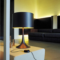 Wholesale FLOS Spun Light T2 Table Lamp By Sebastian Wrong Spun aluminum alloy lamp Light gentleman Table LED lighting lights