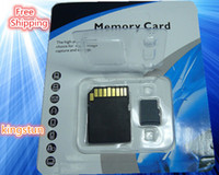Wholesale 8GB Micro sd Memory Card CAPACITY Micro sd HC TF Flash Cards w Adapter B