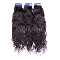Wholesale 100 Human Hair Extension Brazilian Big Curl Remy Virgin Hair Weave Bundles g1B Inch