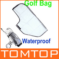 Wholesale Outdoor Golf Rain Cover Waterproof Dustproof Golf Bag Cover Shield H10038