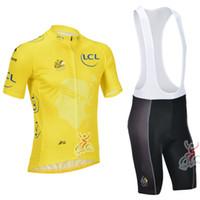 Short Breathable Men New 2013 Tour De France Cycling Jersey Cycling Bib Shorts Summer Cycling Clothing Set Short Sleeve Yellow Cycling Jerseys Free shipping