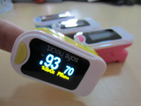 Wholesale Fasion Design Dual Colors Fingertip Pulse Oximeter Oximeter Oxygen Monitor Pulse Rate