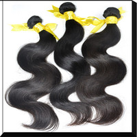 cuticle remy hair - virgin brazilian hair weave AAAAAA Grade body wave human hair extensions full cuticle remy hair A