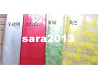 Wholesale cellophane plastic bouquet florist cm cm Xmas festivel gift package wrapping packing paper sheet