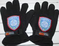 Wholesale Super Soccer fans souvenirs Jiangsu Sainty team logo warm gloves