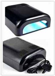 Wholesale UV Lamp W UV Gel Lamp Nail Dryer UV Gel Curing Light V V Nail Art Machine
