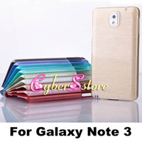 Cheap Luxury Thin Brush Brushed Crystal drawbench Hard Plastic Case Cover For Samsung Galaxy Note 3 N9000