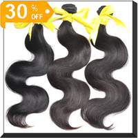 Wholesale 6A Grade virgin hair Brazilian Peruvian Malaysian Virgin Hair weaving extensions Body Wave Christmas Promotion