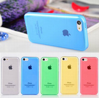For Apple iPhone apple scrubs - Scrub TPU Frosted Matte Transparent Cover Case Skin with Dust plug For iPhone S SE S iPhone S Plus Galaxy S5 S4 S3 Note M8