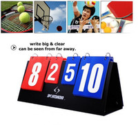 Wholesale Scoreboard Portable Multi sports volleyball basketball table tennis score board